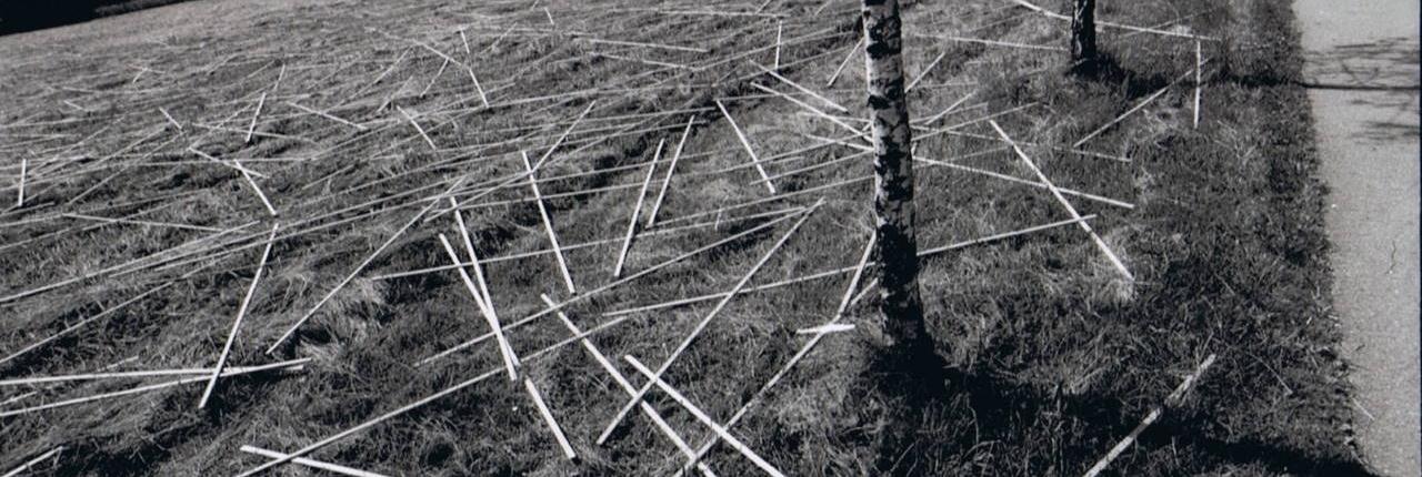 Daniel Zimmermann, 3D-Strukturen, 1999, St. Lorenz, Höribachwiese, Foto © Daniel Zimmermann